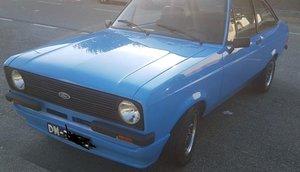 1978 Ford Escort mk2 1.6 crossflow For Sale