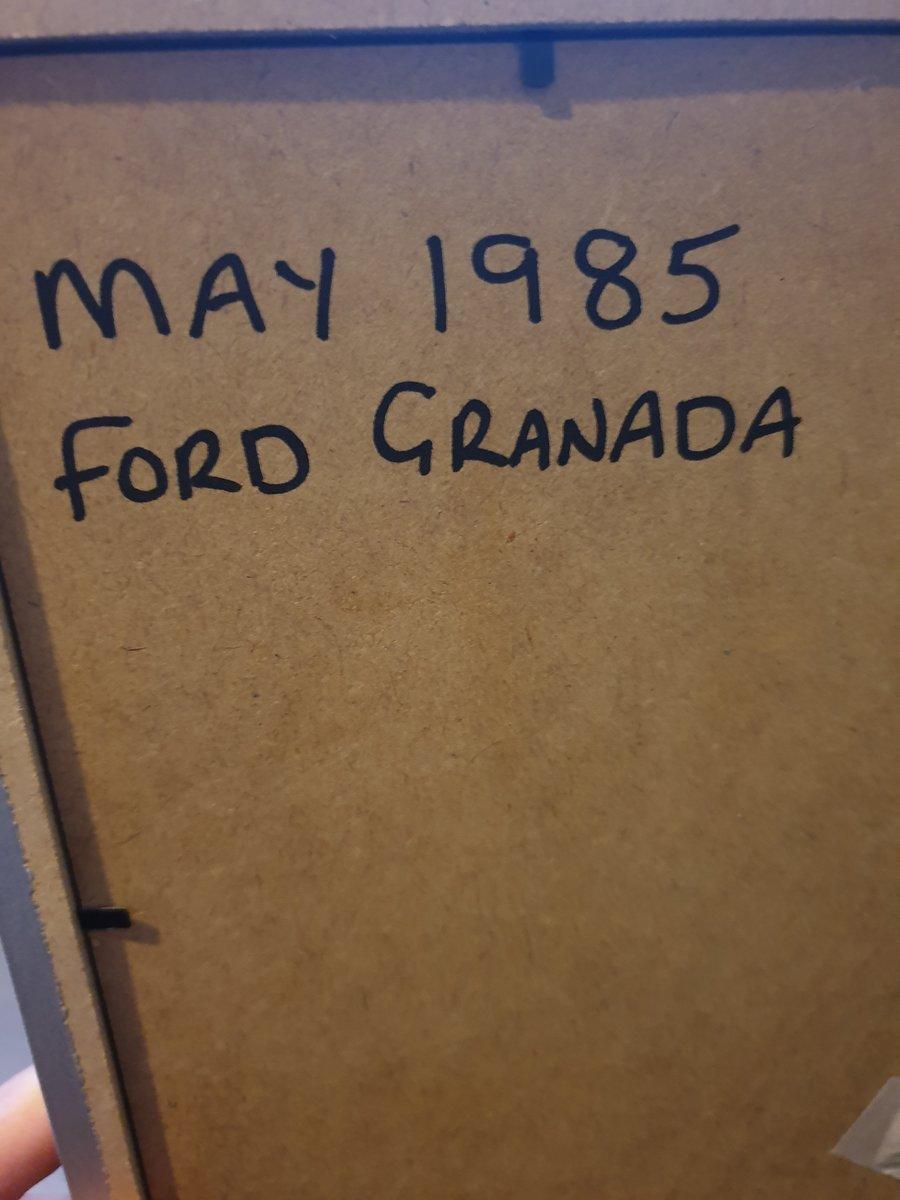 1985 Original Ford Granada A3 advert For Sale (picture 2 of 2)