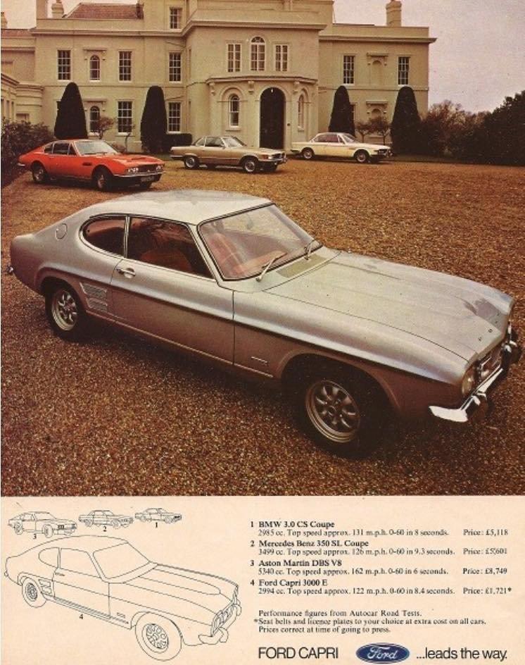 1972 Ford Capri 3000E -  Niki Lauda / FordSports Day Capri For Sale (picture 3 of 6)