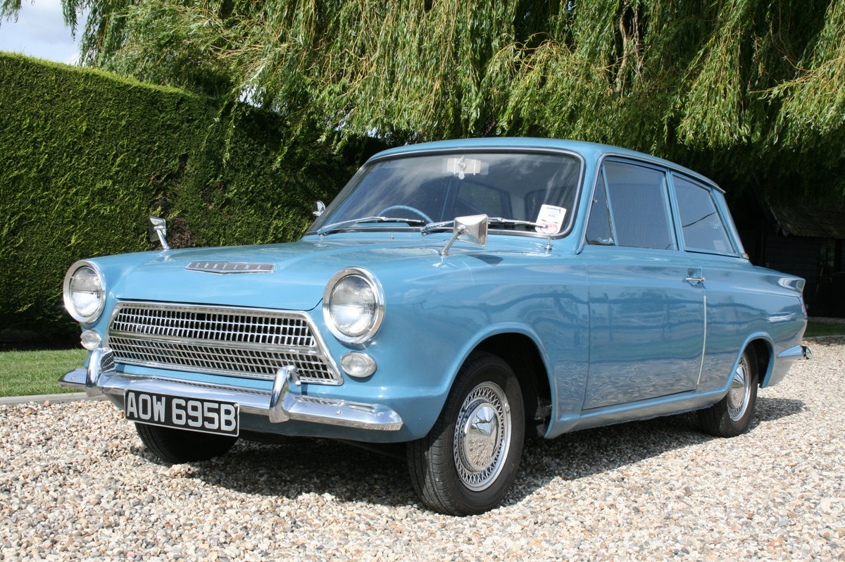 1964 Ford Cortina 1500 2 Door Deluxe.Rare Pre Airflow. Superb  For Sale (picture 1 of 6)