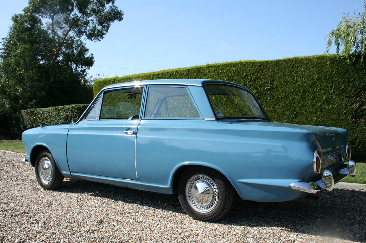 1964 Ford Cortina 1500 2 Door Deluxe.Rare Pre Airflow. Superb  For Sale (picture 2 of 6)