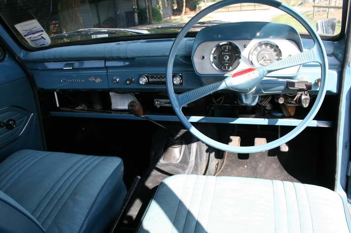 1964 Ford Cortina 1500 2 Door Deluxe.Rare Pre Airflow. Superb  For Sale (picture 3 of 6)