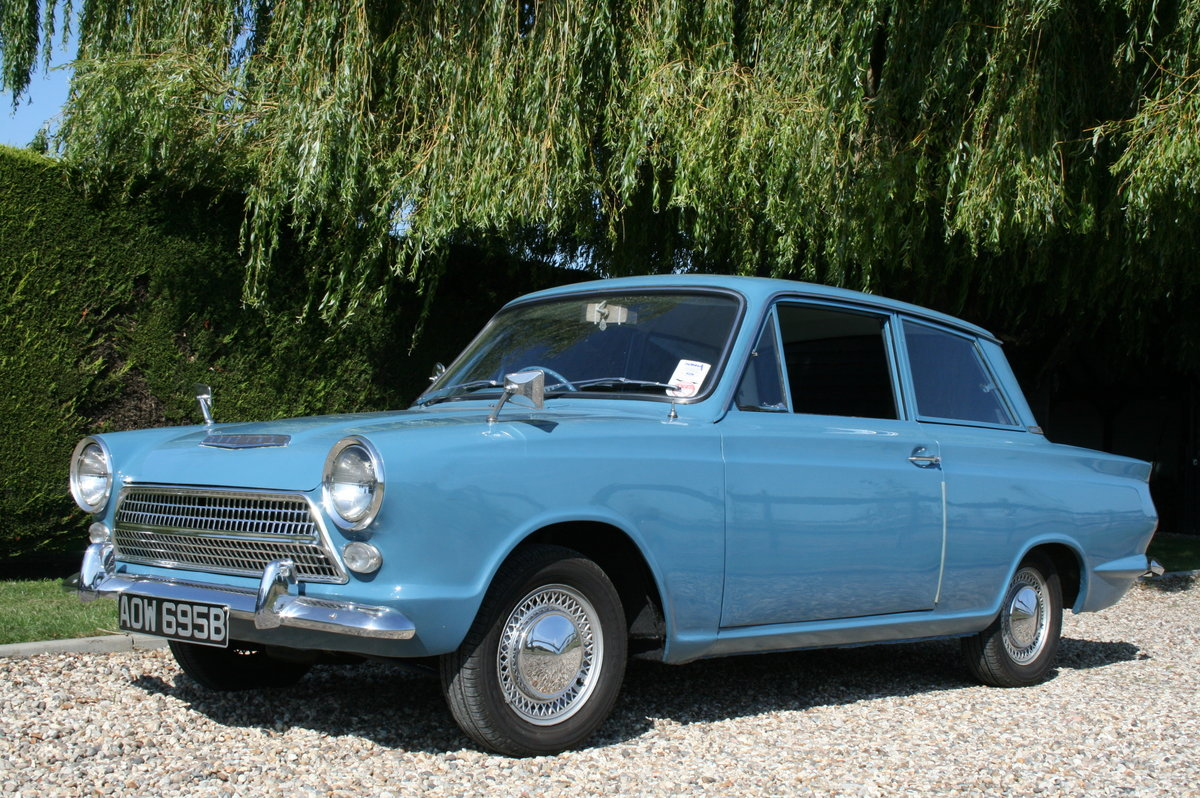 1964 Ford Cortina 1500 2 Door Deluxe.Rare Pre Airflow. Superb  For Sale (picture 5 of 6)