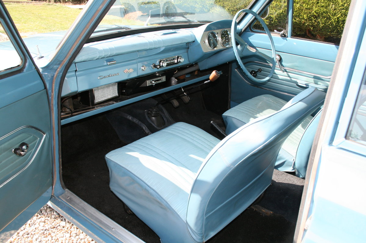 1964 Ford Cortina 1500 2 Door Deluxe.Rare Pre Airflow. Superb  For Sale (picture 6 of 6)