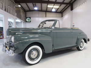 1941 Ford Super Deluxe Club Convertible For Sale