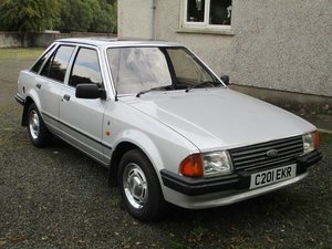 1986 Ford Escort 1.3 Ghia For Sale