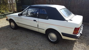 1984 Escort mk3 cabriolet 1.6 solar  For Sale