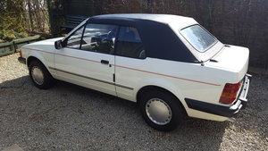 1984 Escort mk3 cabriolet 1.6 solar