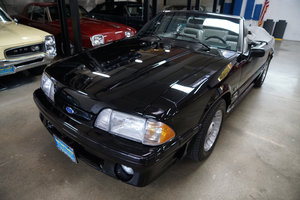 1989 Ford Mustang GT 5.0 V8 Convertible with 16K orig miles For Sale