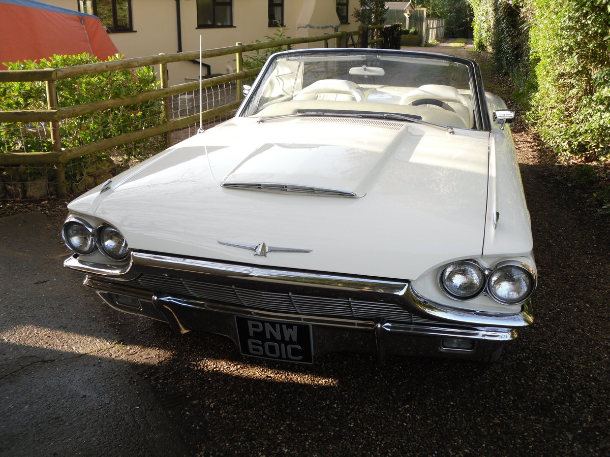 Thunderbird (Roadster) 1965 For Sale (picture 1 of 6)