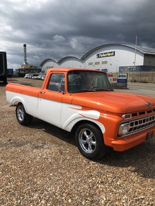 1961 F100 unibody For Sale