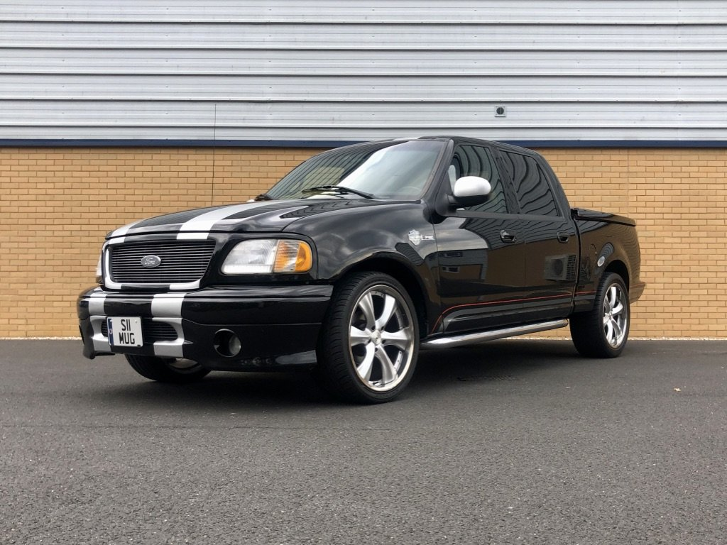 2001 FORD F-150 // HARLEY DAVIDSON LTD // 5.4L // px swap For Sale (picture 1 of 10)