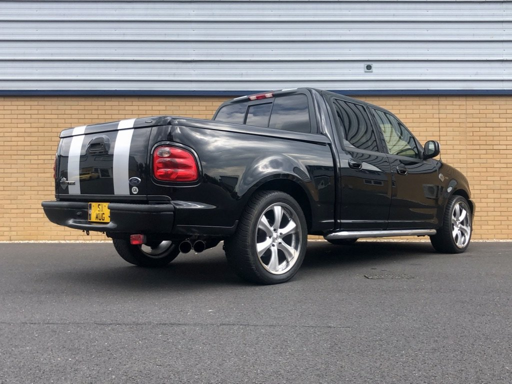 2001 FORD F-150 // HARLEY DAVIDSON LTD // 5.4L // px swap For Sale (picture 4 of 10)
