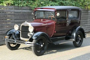 Ford Model A Tudor 1928, LHD, mit TÜV SOLD