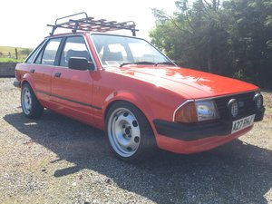 1984 Ford Escort, 1.3 Ghia, recently restored For Sale
