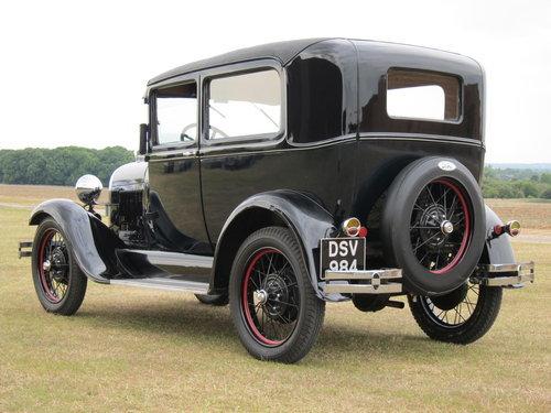1929 Model A - 2 door Tudor For Sale (picture 2 of 6)