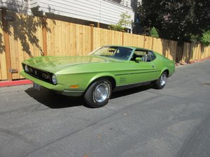 1972 Ford Mustang Mach 1 - Lot 974 For Sale by Auction