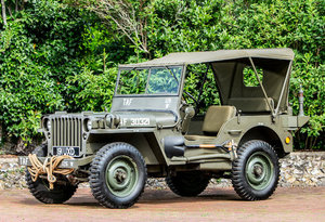 1944 FORD JEEP 4X4 LIGHT UTILITY For Sale by Auction