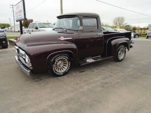 1956 Ford F100 Pickup Custom  For Sale by Auction