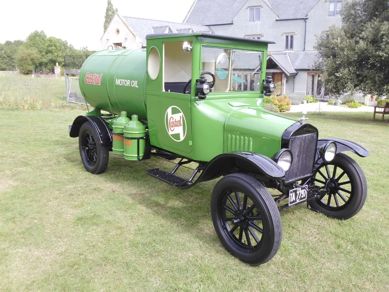 1923 Ford model T oil tanker Fully Restored For Sale (picture 1 of 6)