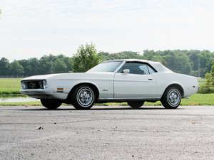 1973 Ford Mustang Convertible  For Sale by Auction