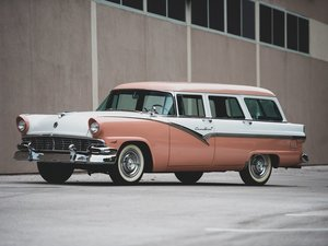 1956 Ford Eight-Passenger Country Sedan
