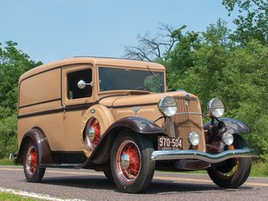 1934 Ford Panel Truck  For Sale by Auction