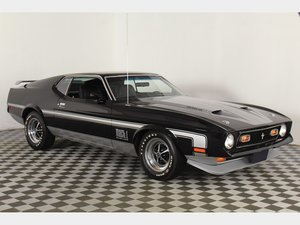 1971 Ford Mustang Mach 1  For Sale by Auction