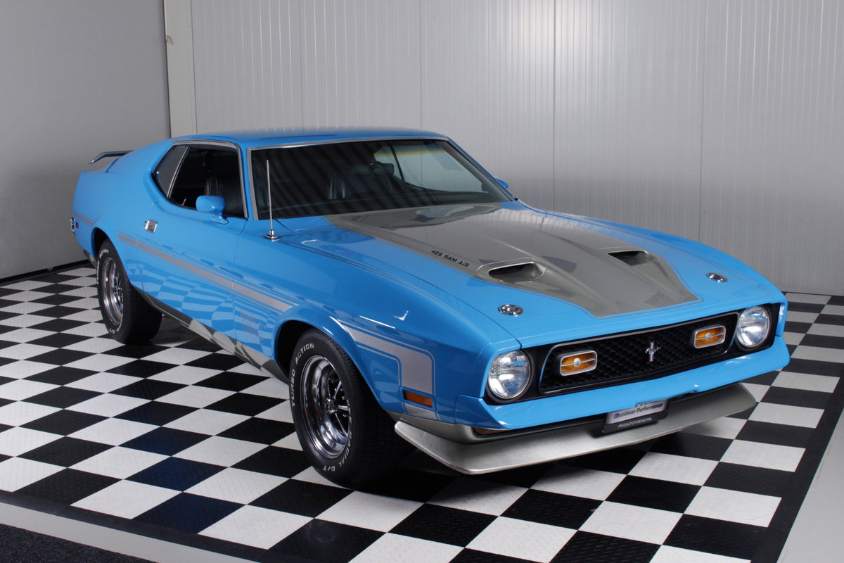 1971 71 Mustang mach 1 429 SCJ dragpack, super rare car ! For Sale (picture 1 of 6)