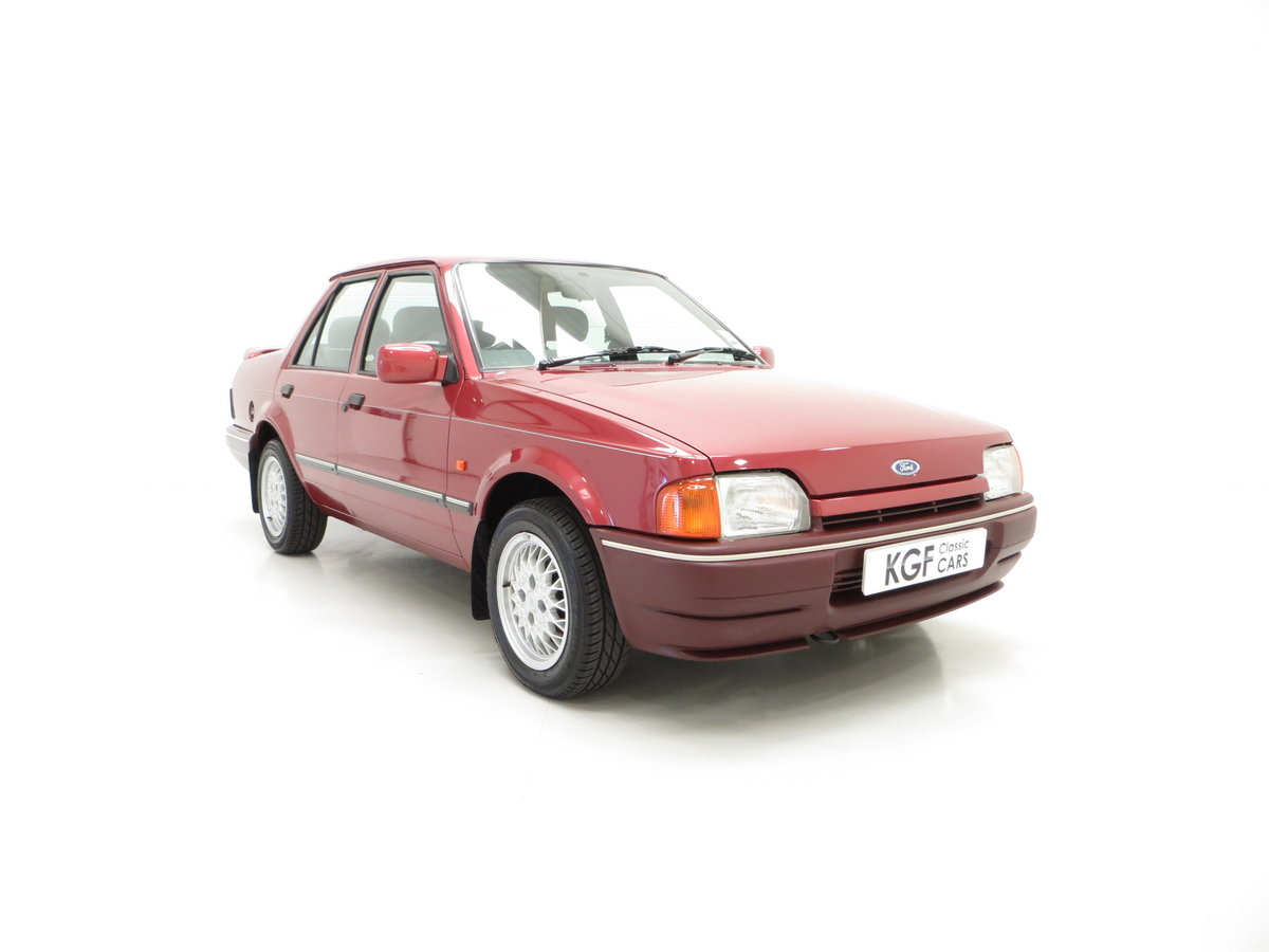1990 A Special Edition Ford Orion Equipe with Just 29790 Miles For Sale (picture 1 of 6)