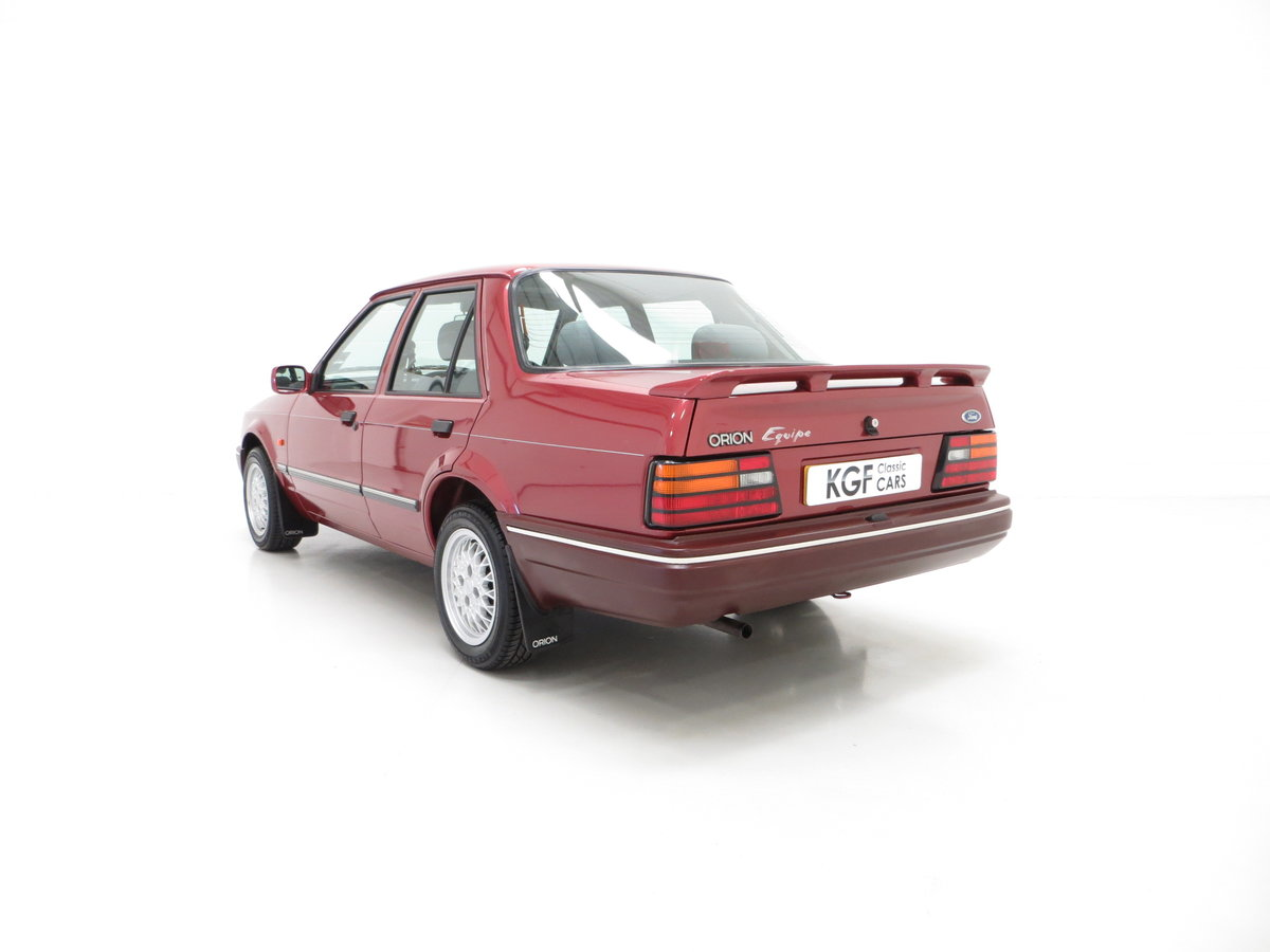 1990 A Special Edition Ford Orion Equipe with Just 29790 Miles For Sale (picture 4 of 6)