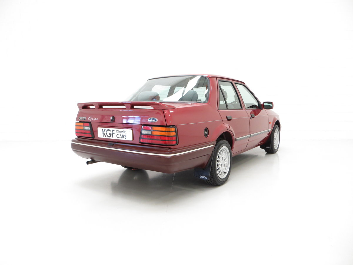 1990 A Special Edition Ford Orion Equipe with Just 29790 Miles For Sale (picture 5 of 6)