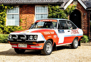 1976 FORD ESCORT MK2 RS2000 GROUP 1 RALLY CAR For Sale by Auction