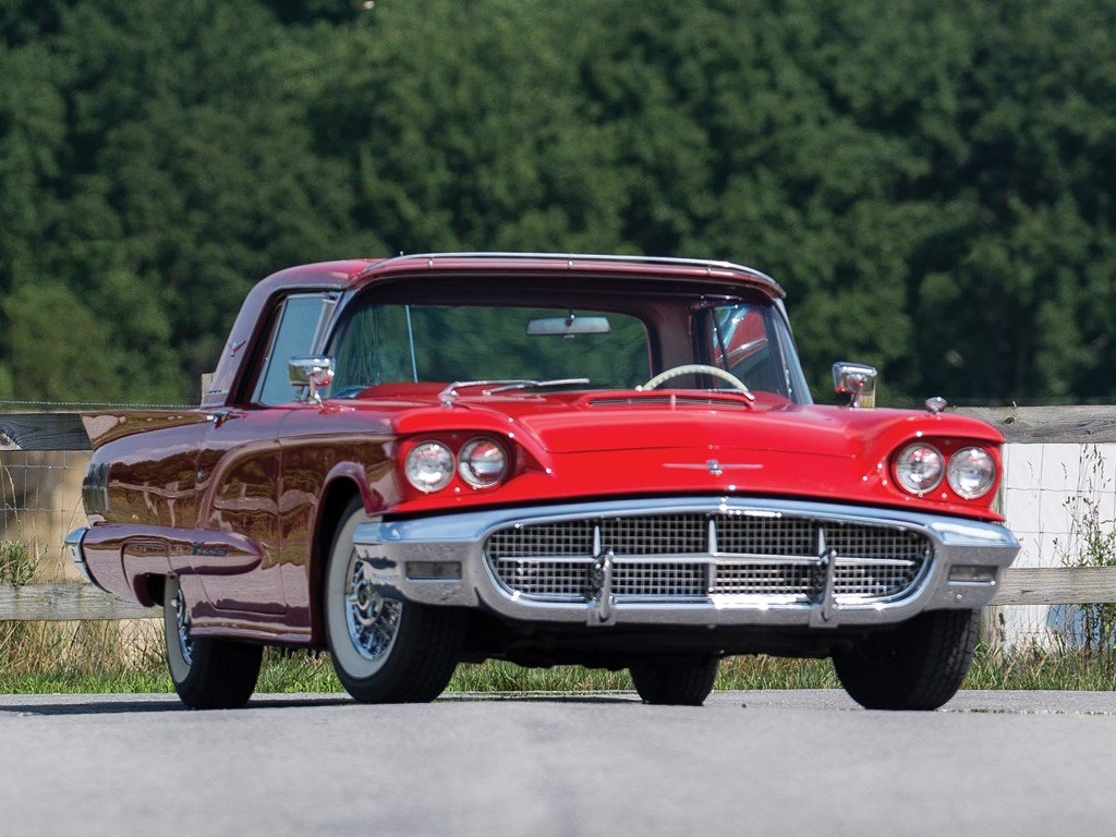 1960 Ford Thunderbird Coupe  For Sale by Auction (picture 1 of 6)