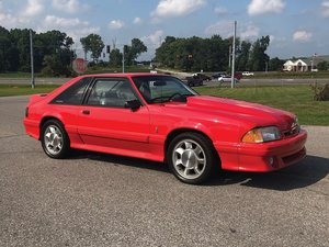 1993 Ford Mustang Cobra  For Sale by Auction