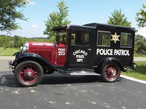 1930 Ford Model A Chicago Paddy Wagon  For Sale by Auction