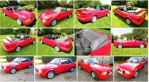 1989 Escort XR3i Cabriolet - HUGE History all MOTs
