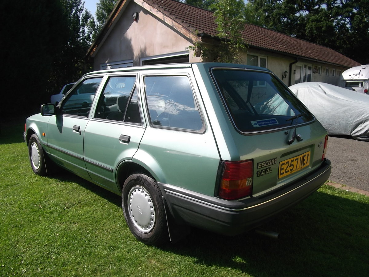 1987 Ford Escort 1.4gl Estate, 1 Owner, Rust Free For Sale (picture 1 of 6)