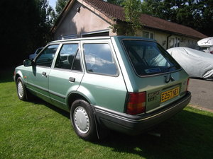 1987 Ford Escort 1.4gl Estate, 1 Owner, Rust Free For Sale