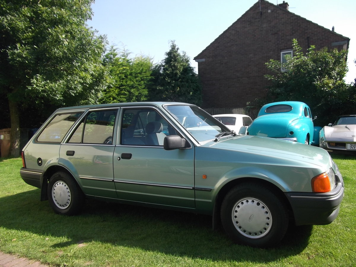1987 Ford Escort 1.4gl Estate, 1 Owner, Rust Free For Sale (picture 6 of 6)