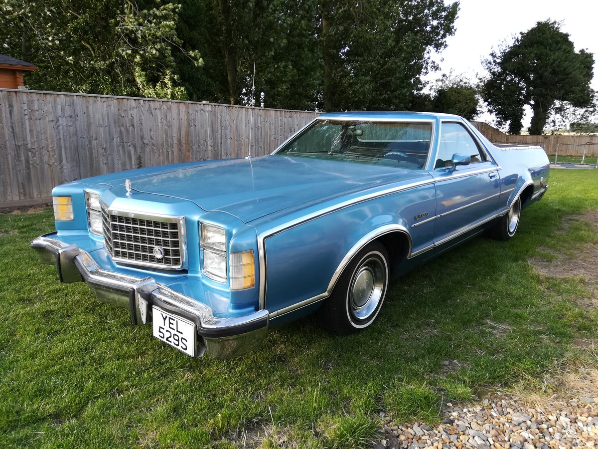 1978 Ford ranchero 500 pickup truck  oklahoma import For Sale (picture 1 of 6)