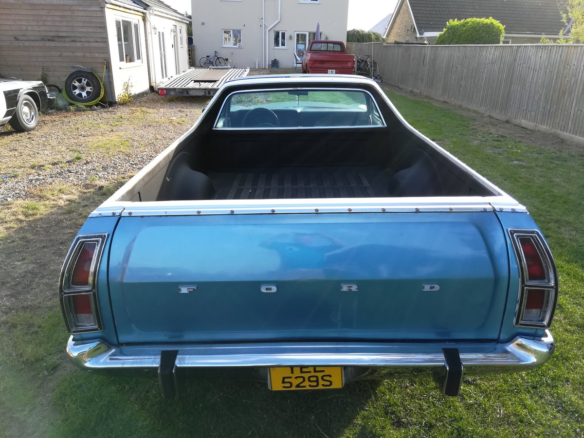 1978 Ford ranchero 500 pickup truck  oklahoma import For Sale (picture 3 of 6)