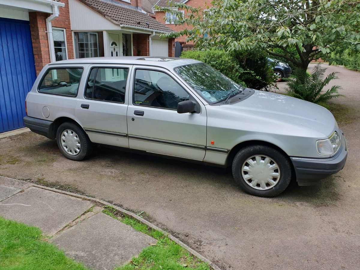 1991 Ford Sierra Owned from new - Bargain! For Sale (picture 1 of 5)