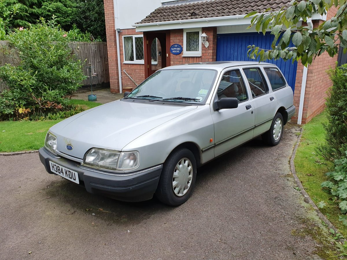 1991 Ford Sierra Owned from new - Bargain! For Sale (picture 2 of 5)