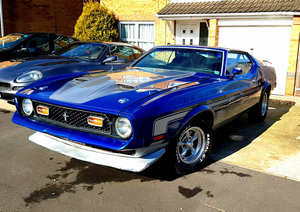 1972 Ford Mustang Mach 1 12 Sep 2019 For Sale by Auction