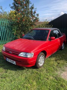 Lot 8 - A 1991 Ford Escort Mk IV - 11/09/2019 For Sale by Auction