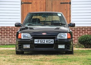 1988 Ford Escort XR3i Rattlesnake For Sale by Auction