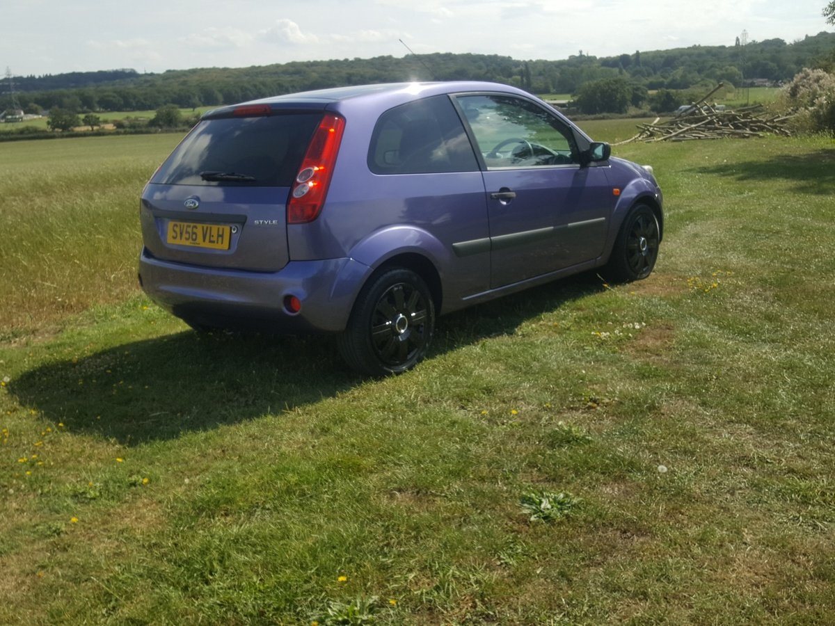 Ford Fiesta Style 1.242cc 5 Speed Manual 2006 For Sale (picture 2 of 6)