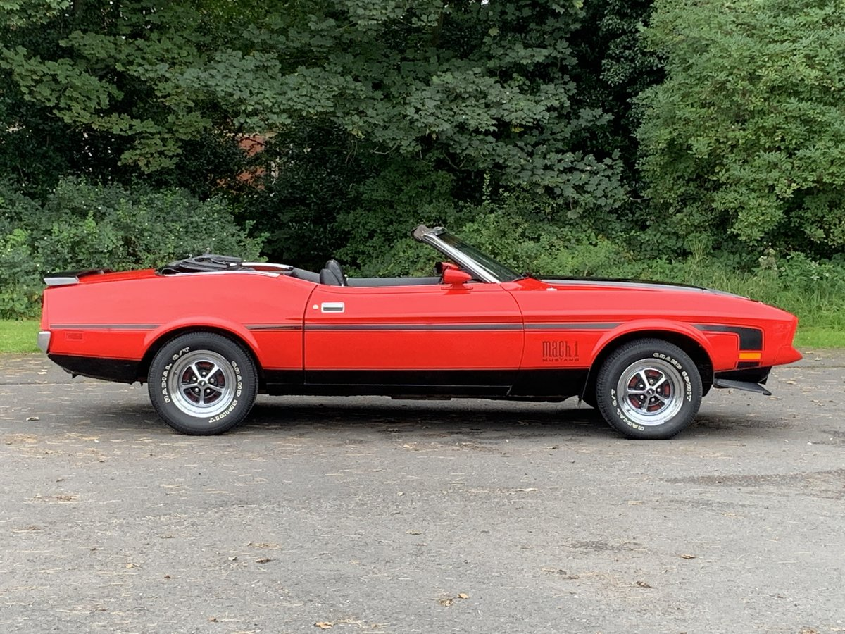 1972 FORD MUSTANG 351 V8 CONVERTIBLE For Sale (picture 2 of 6)