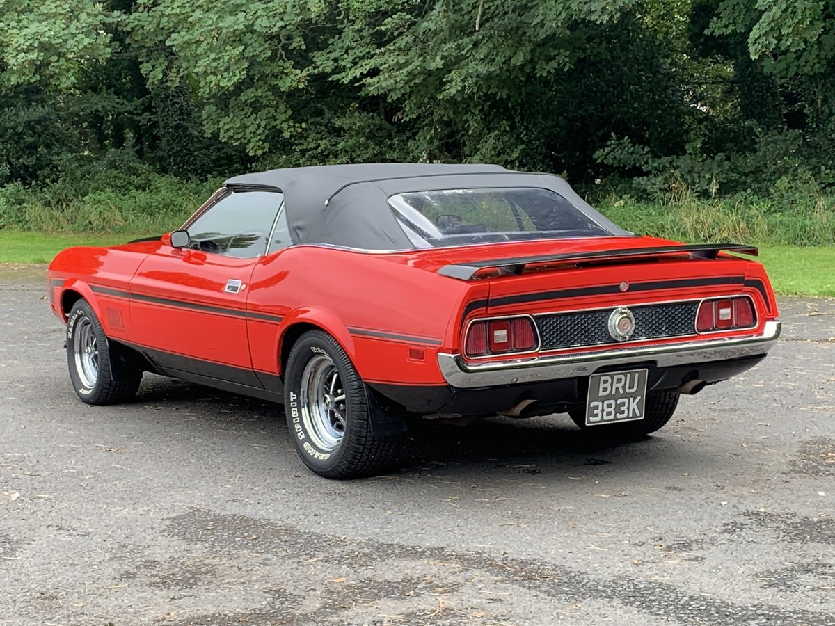 1972 FORD MUSTANG 351 V8 CONVERTIBLE For Sale (picture 3 of 6)